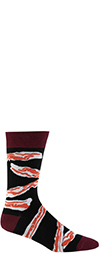Men's Bacon Crew Socks