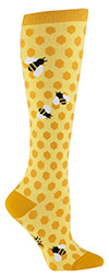 Bee's Knees Knee Highs Novelty Socks
