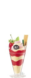 Cake Towel Gifts Strawberry Marble Parfait