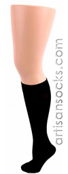Celeste Stein BLACK COOLMAX Knee High Stockings / Trouser Socks