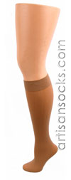 Celeste Stein NUDE COOLMAX Knee High Stockings / Trouser Socks