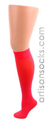 Celeste Stein Red Knee High Stockings / Trouser Socks