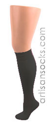 Celeste Stein Charcoal Knee High Stockings / Trouser Socks