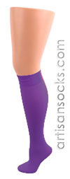 Celeste Stein Purple Knee High Stockings / Trouser Socks