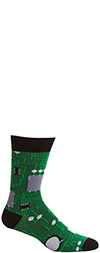 Men's Circuit Board Crew Socks