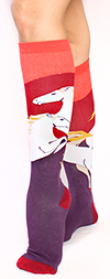 Wild Horses Knee High Socks