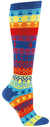Nordic Rainbow Knee High Socks