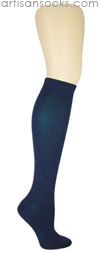K. Bell Soft and Dreamy Solid Color Knee Highs - Navy Knee High Socks