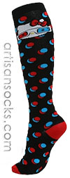 Loungefly 3D Glasses Hello Kitty Socks - Knee High