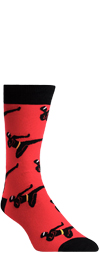 Men's Ninja Power Crew Socks
