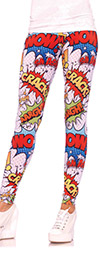 POW! Comic Book Leggings