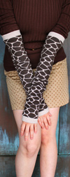 RocknSocks Giraffe Neutral Arm Warmers / Leg Warmers 21