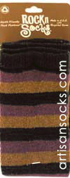 RocknSocks Apollonia Striped Cotton Arm Warmer / Leg Warmer