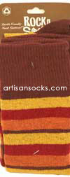RocknSocks Isis Cotton Striped Over the Knee Socks (OTK)