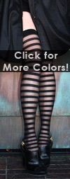 Sexy Sheer Stripe Thigh Highs- in 2 Colors!