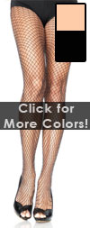 Lurex Sparkly Fishnet Stockings - Black or Nude Fishnets Black / Silver