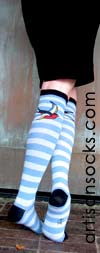 Sock It To Me Sparrow Cotton Knee High Knee Socks