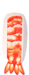 Shrimp Ebi Sushi Socks