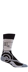 Toe-Tal Recall Biomechanical Crew Socks (Men's)