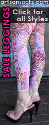 Mixed Print Leggings SALE! Agent Portillio