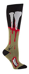 The Socking Dead-Zombie Flesh Knee High Socks