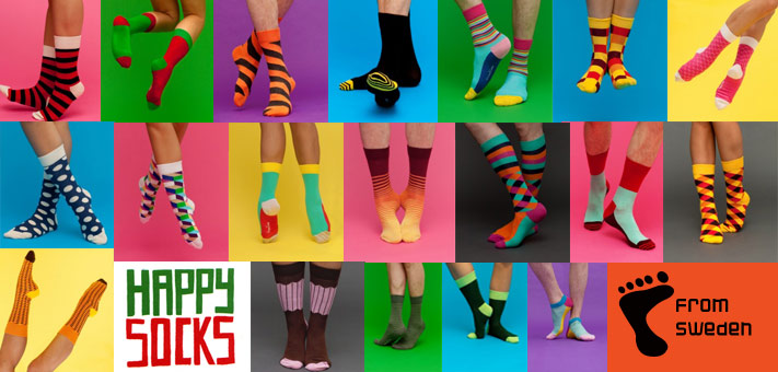 460b4b09c Happy Socks From Sweden - Colorful cotton socks built to last From ...