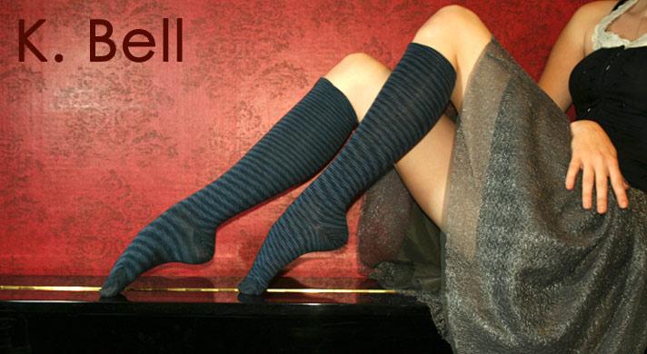 53f82d42321 K. Bell Socks Featuring Laurel Burch - Japanese tabi socks