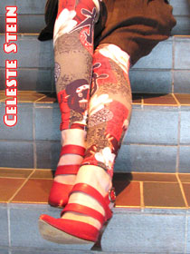 Celest Stein Socks, Tights, Leggings
