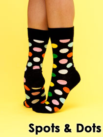 Dotted Socks & Tights & Leggins