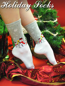 Holiday Socks & Hosiery