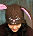 Wool and Fleece Animal Hat: Bunny Beanie