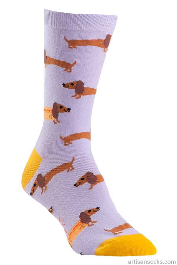 - Hot Dog Crew Socks