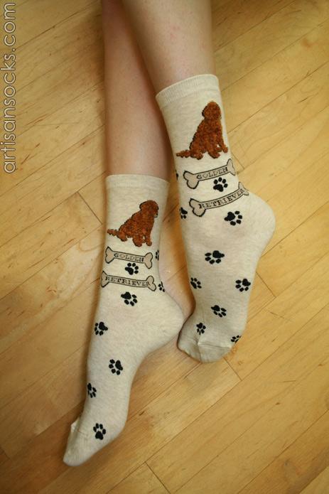 Golden Retriever Socks Compression Socks