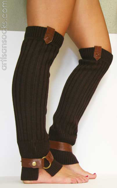 DIY -- Knitting Pattern for Leg Warmers - knitting machine, fiber