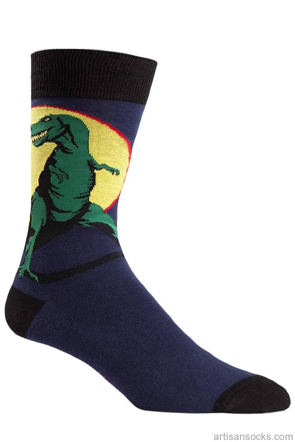 5c7e387cb Men's T-Rex Crew Socks