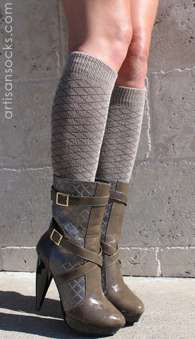 c16ecab99 RocknSocks Jagger Cotton Autumn Tan Knee High Women s Socks