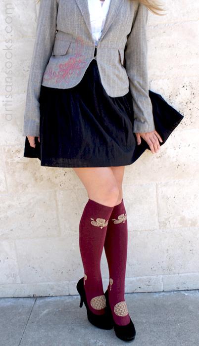 Asian Knee Socks 14