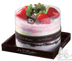 Cake Towel Gifts Strawberry Whole Cake (Boxed)