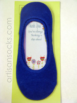 K. Bell Sock Cards - Thank You Card - Blue Socks