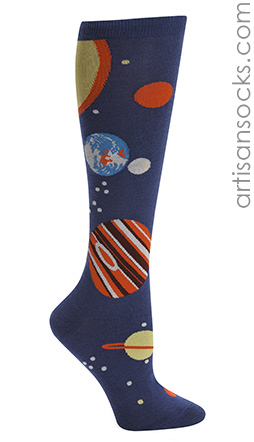 Planets Knee Highs