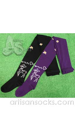Scolar Japanese Stockings - Bambi Deer Tights - Purple