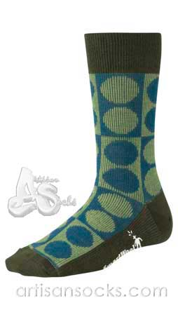 Smartwool Women's Socks FLECKER Dotted Wool Crew Socks