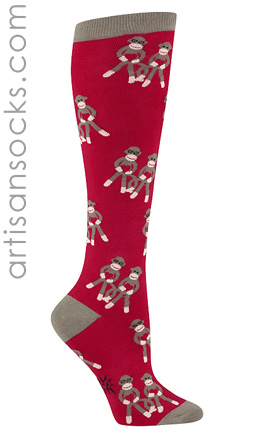 Sock Monkey Love by Sock It To Me