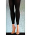 Plus Size Chic Opaque Black Footless Tights