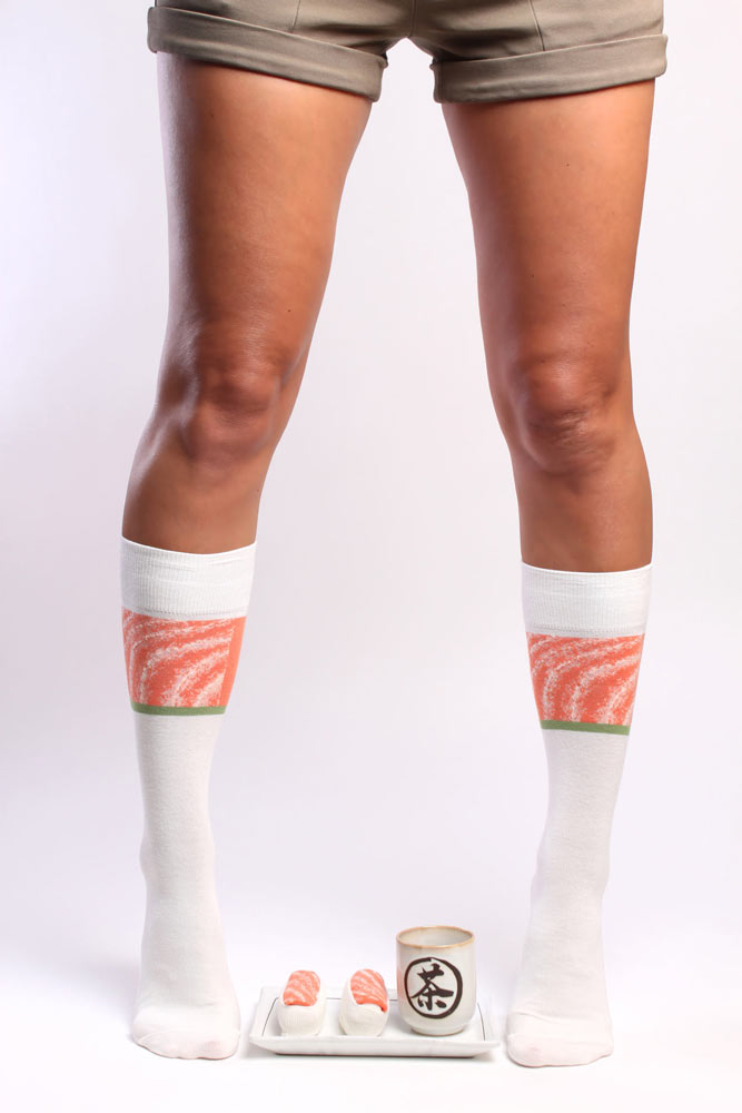 Say Salmon Sushi Socks five times quickly.